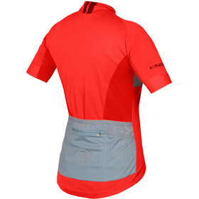 Endura FS260 Pro Koszulka z krótkim rękawem Kobiety, hi-viz coral